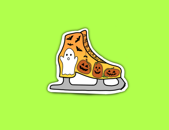 Picture of Halloween Skate Sticker