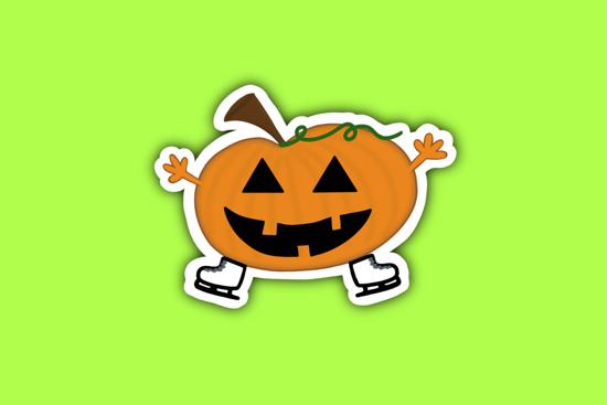 Picture of Pumpkin Sticker