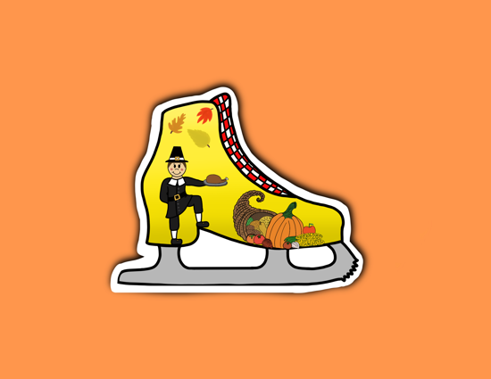Picture of Thanksgiving Skate Sticker
