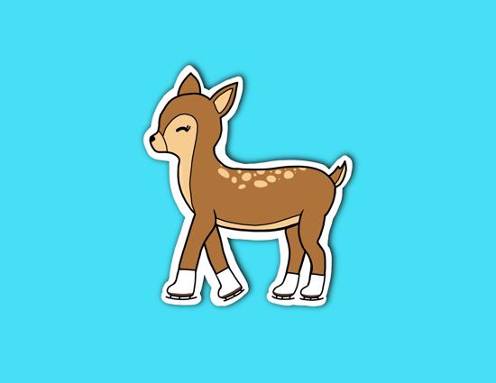 Picture of Reindeer Sticker