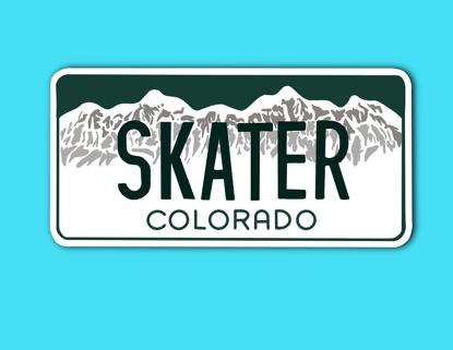 Picture of Colorado License Plate Sticker