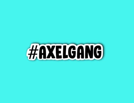 Picture of Axel Gang Sticker