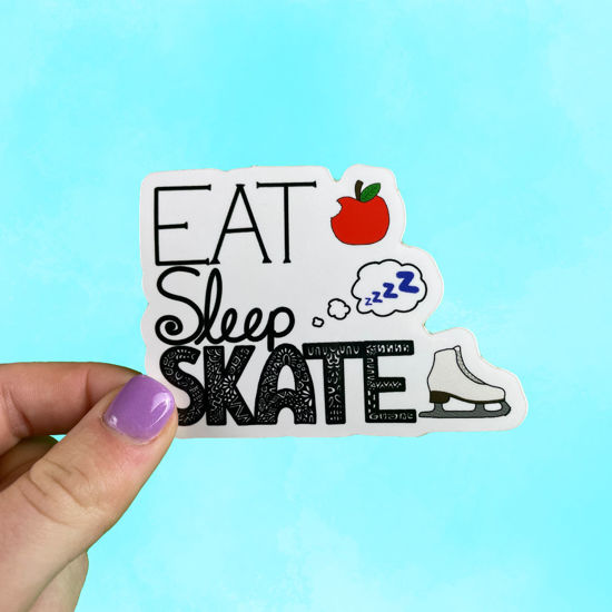 Picture of Eat Sleep Skate Sticker