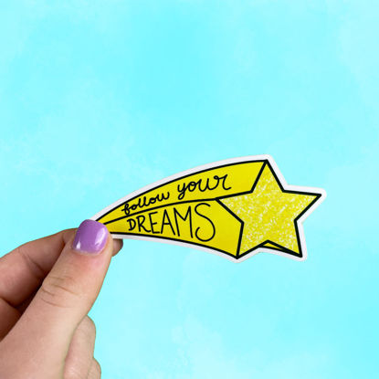 Picture of Follow Your Dreams Sticker