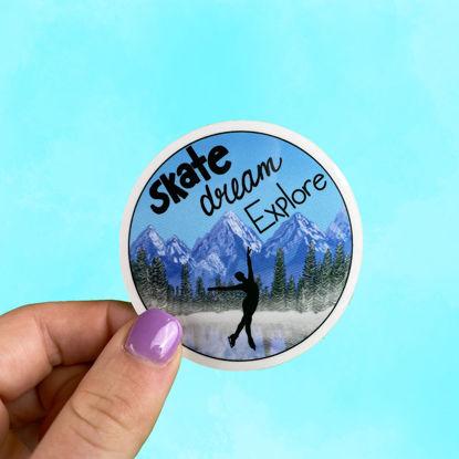 Picture of Skate Dream Explore Sticker
