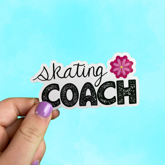 Picture of Skating Coach Sticker