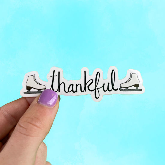 Picture of Thankful Sticker