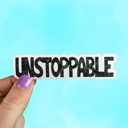 Picture of Unstoppable Sticker
