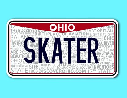 Picture of Ohio License Plate Sticker