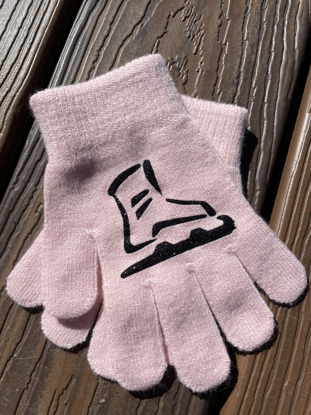 Picture of Light Pink Skate Gloves